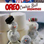 Snowmen OREO Cookie Balls