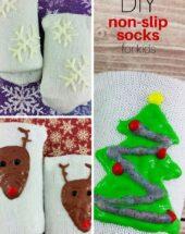 DIY Non-Slip Socks for Kids