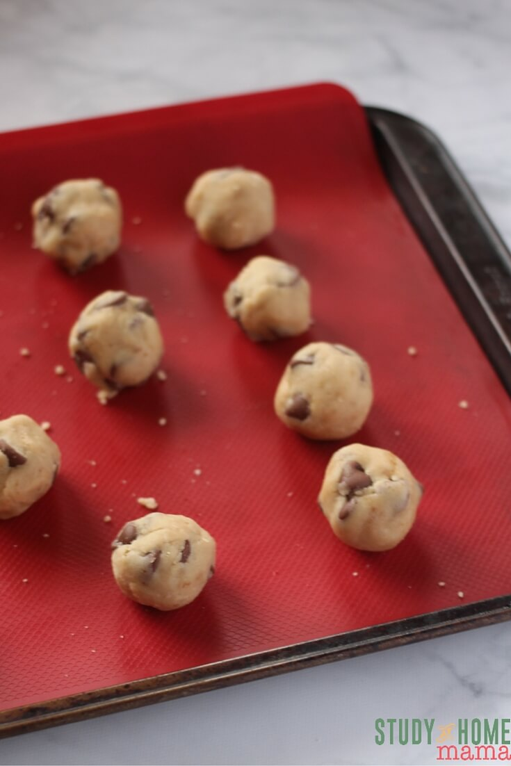 No Bake Cookie Dough Bites are a great last minute dessert.