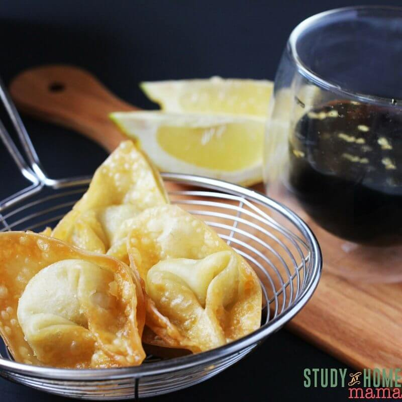 Yummy Spicy Cream Cheese Wontons are sure to please with just enough kick to have your guests ask for more.