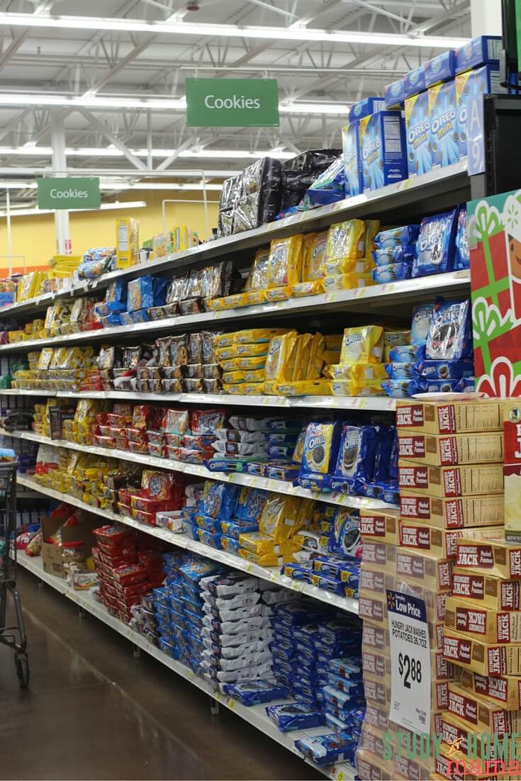 Where to find OREO cookies at Walmart
