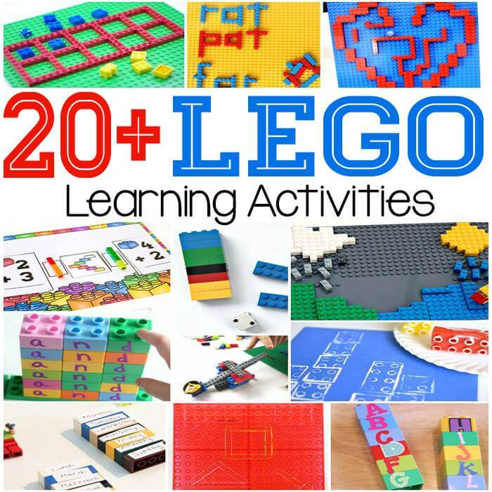 20+ Lego Learning Activities
