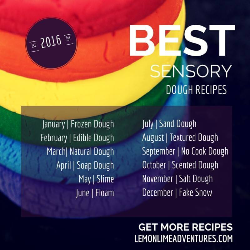 Best Sensory Dough Recipes