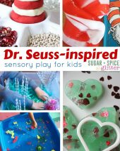 Dr Seuss Sensory Play Ideas