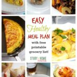 7 Day Healthy Meal Plan for Winter