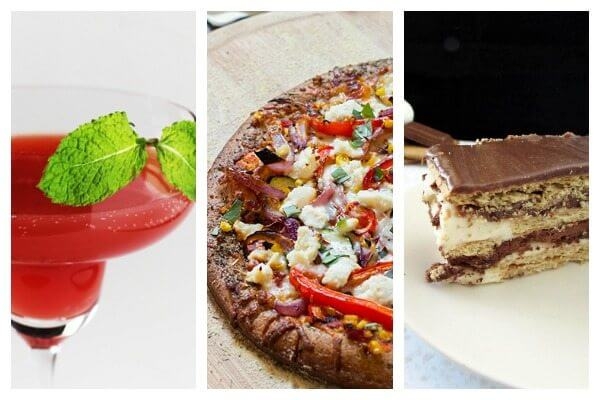 Cranberry mocktails, healthy pizza, and 10-minute S'mores cake