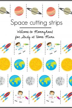 Outer Space Cutting Printables