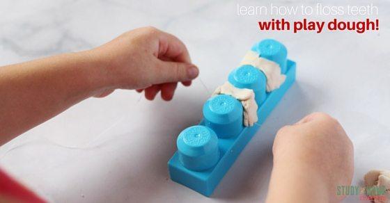 learn how to floss teeth
