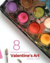 8 Montessori-inspired Valentine's Day Art Activities