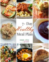 7 Day Healthy Meal Plan 8