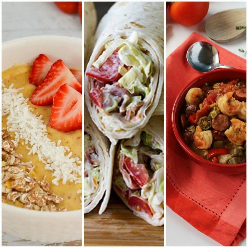 Monday Meal Plan 10