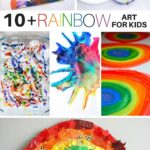 10+ Rainbow Art Activities for Kids