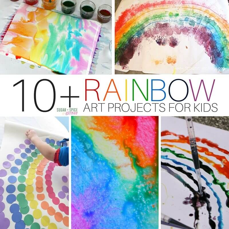RAINBOW ART PROJECTS FOR KIDS