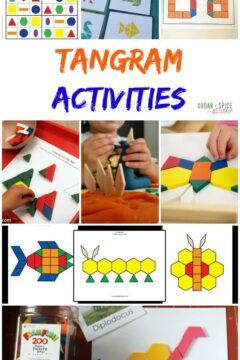 The Best Tangram Activities