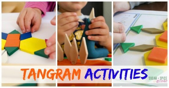 The Best Tangram Activites on Sugar Spice and Glitter 1