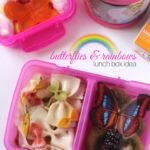 Rainbow & Butterflies Lunch Box Idea