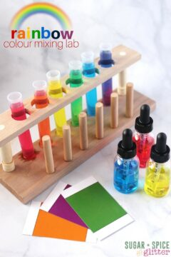 Rainbow Colour Mixing Lab