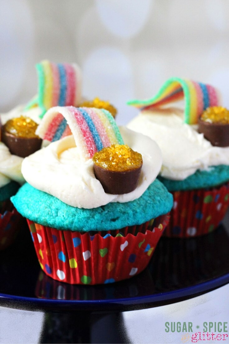 Kids Kitchen Over The Rainbow Cupcakes ⋆ Sugar Spice