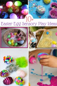 Easter Egg Sensory Play