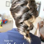 How to Self-Braid Curly Hair