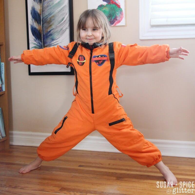 star pose for kids