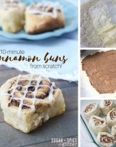 10-Minute Cinnamon Bun Recipe