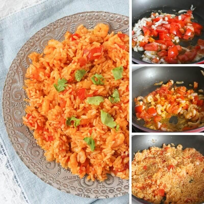 10 minute paella