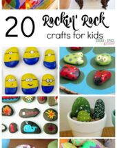 20 Rockin' Rock Crafts for Kids
