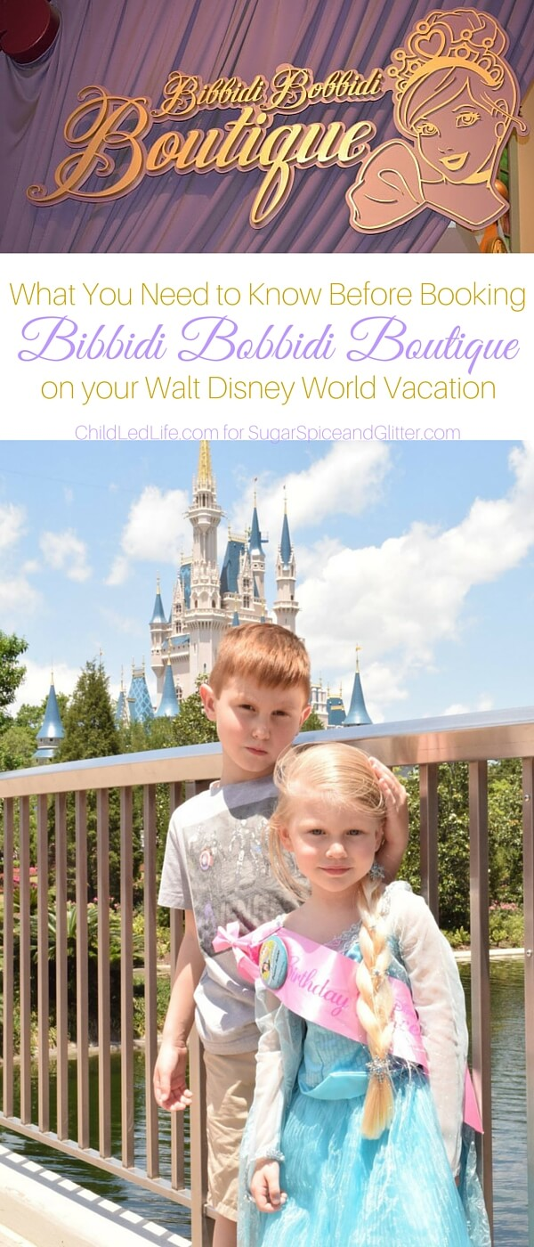 We are so excited about visiting Walt Disney World and the Bibbidi Bobbidi Boutique, but I'm not sure I have thought about these considerations. Am I booking at the right time of day? Will my daughter like the experience? How should we prepare? Here's what you need to know before booking Bibbidi Bobbidi Boutique.