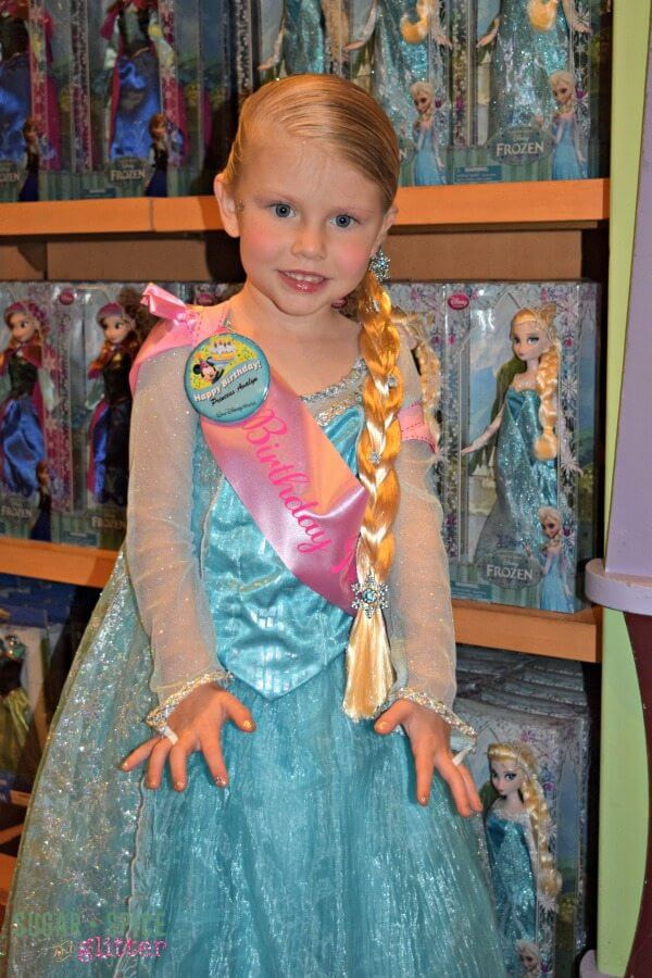 Overwhelmed and sensory overloaded after an unexpected experience at the Bibbidi Bobbidi Boutique at Walt Disney World.
