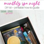 DIY Monthly Spa Night Kit
