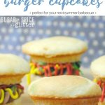 Kids' Kitchen: Burger Cupcakes