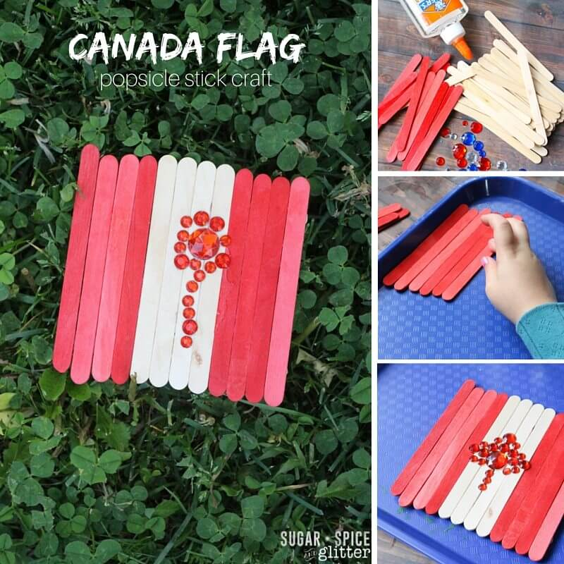 canada flag craft