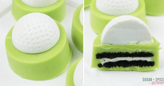 golf ball oreos