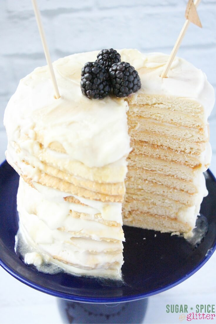 honey layer cake recipe
