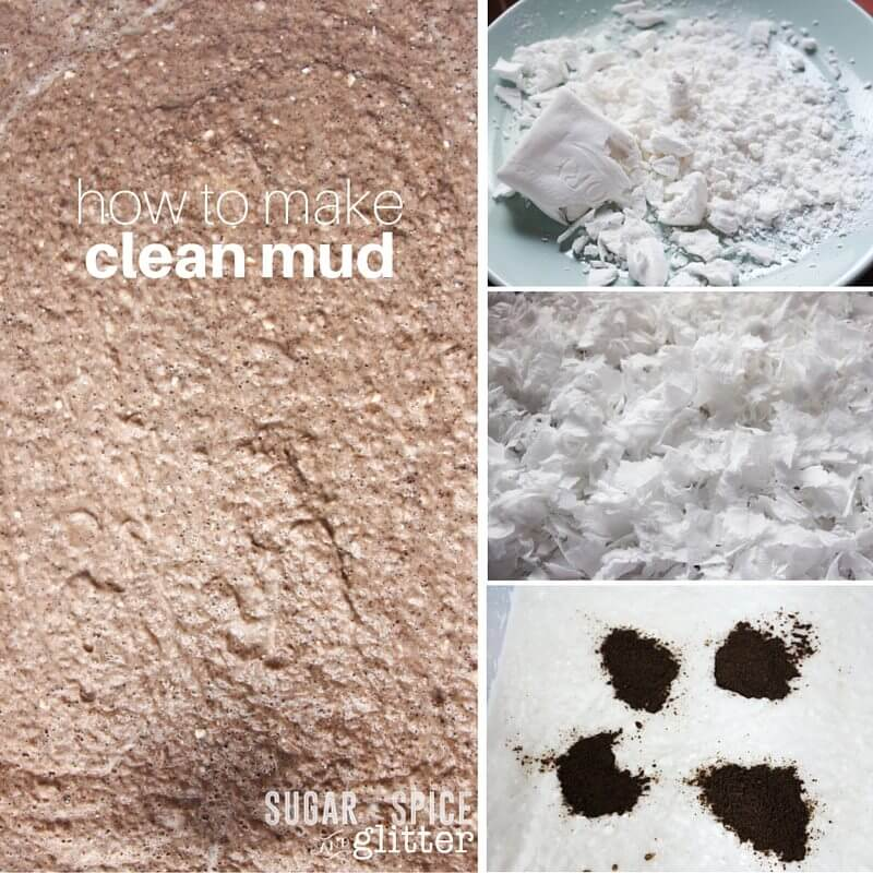 how to make clean mud