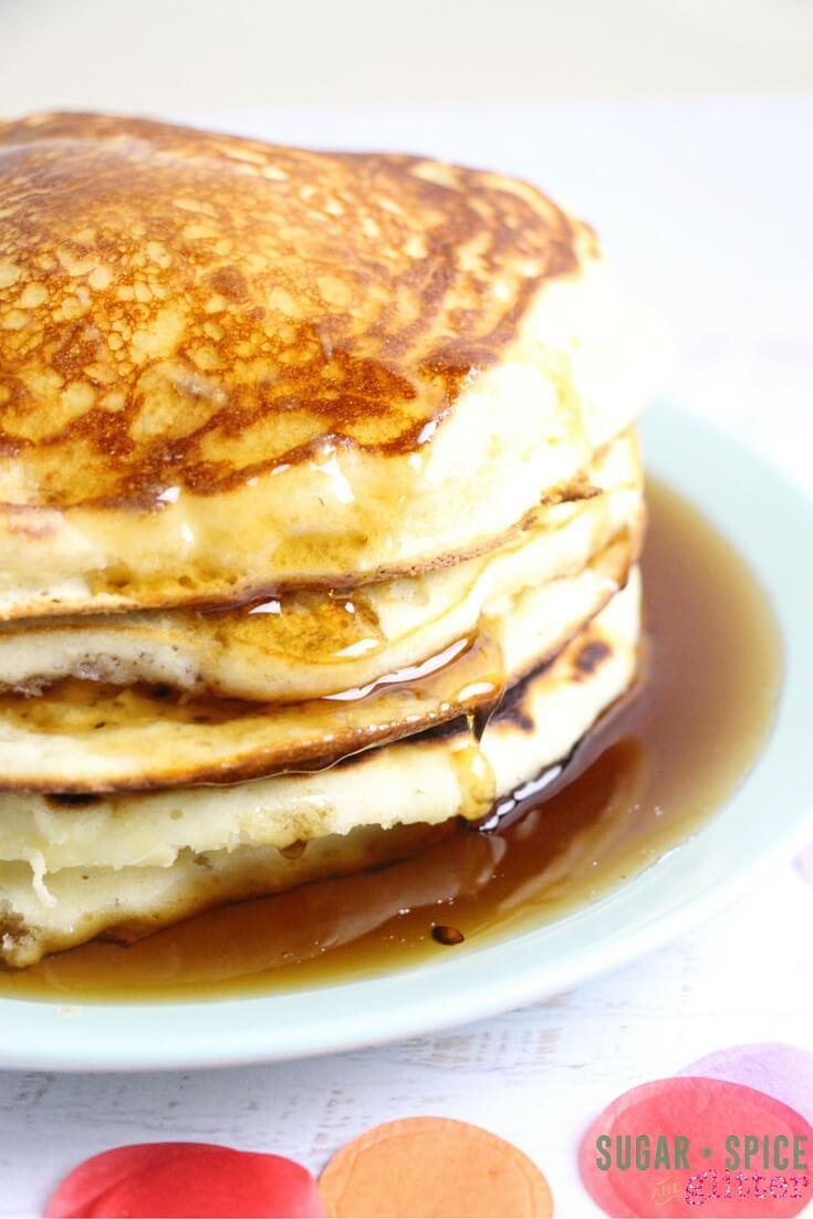 lemon pancakes recipe