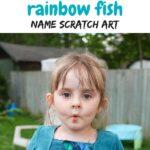 Rainbow Fish Scratch Art