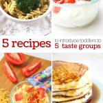 5 Easy Recipes to Introduce the 5 Taste Groups