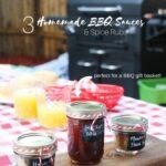 3 DIY BBQ Sauces & Spices