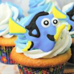 Finding Dory Lemon Cupcakes