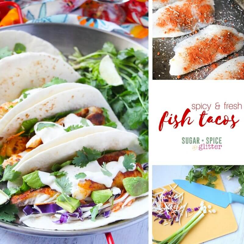 spicy fish tacos recipe
