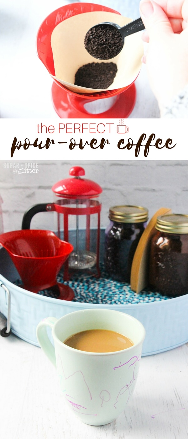 How to make the perfect pour-over coffee with your own DIY pour-over coffee station