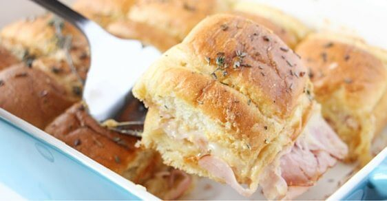 ham and cheese sandwich casserole