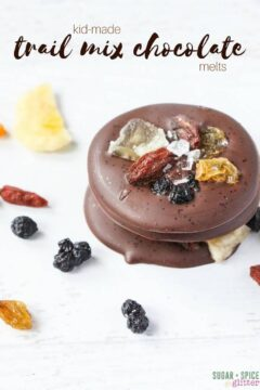 Healthy Trail Mix Chocolate Melts