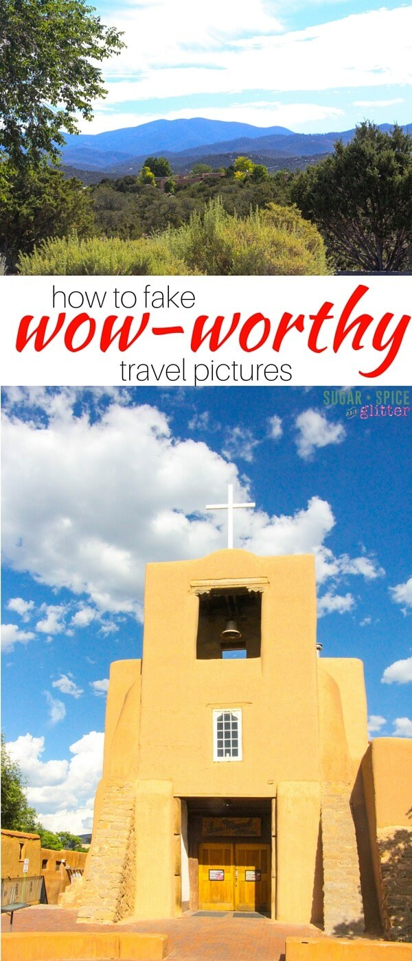 How to take your cell-phone travel pictures from drab to wow with some simple photo editing techniques so your pictures can be as beautiful and vivid as your family's memories.