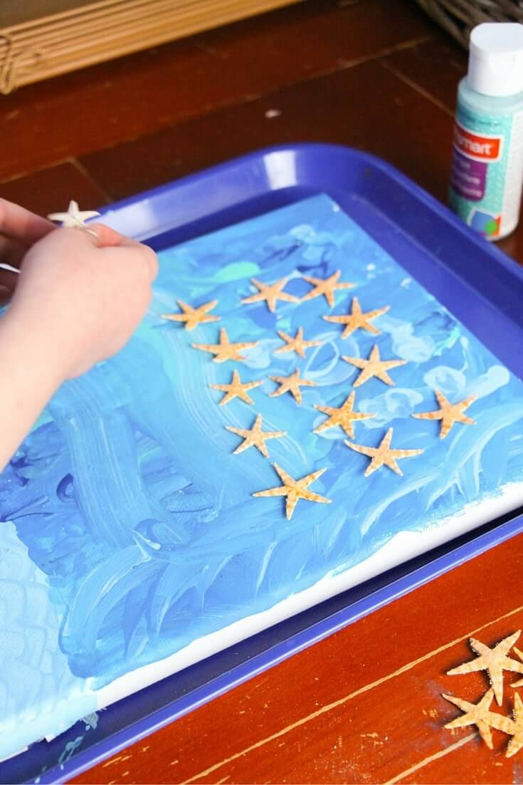 how to make ocean art (3)