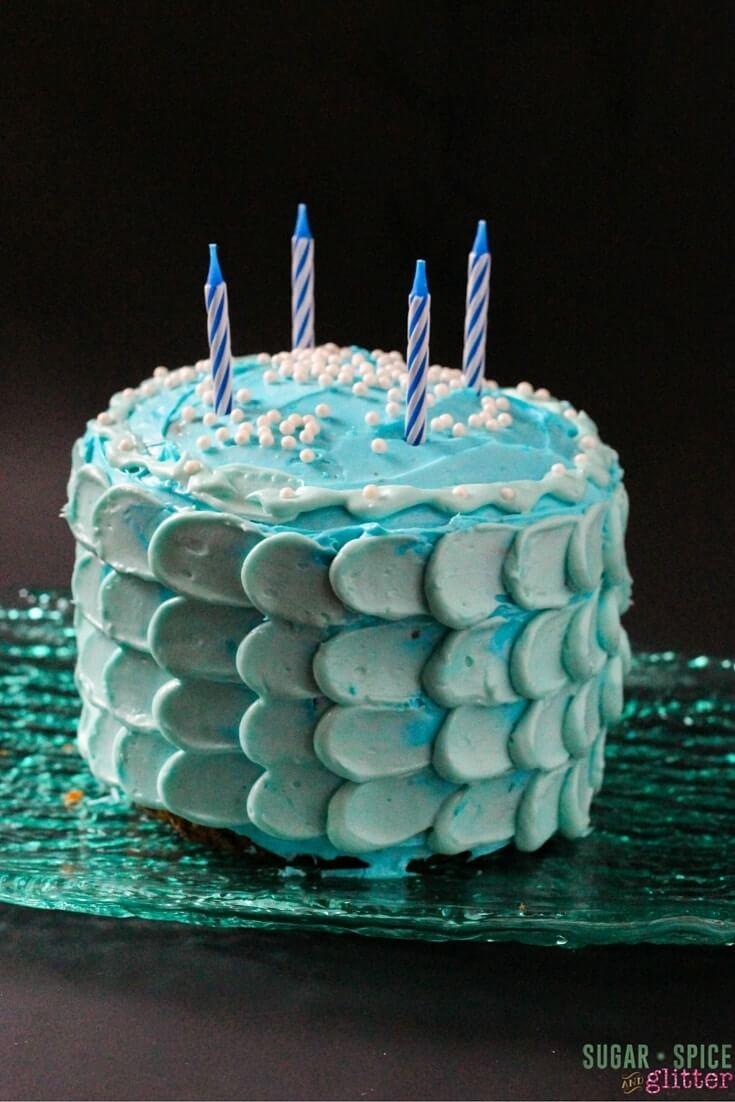 mermaid cake tutorial (2)