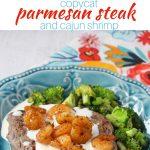 Parmesan Steak n' Shrimp Recipe