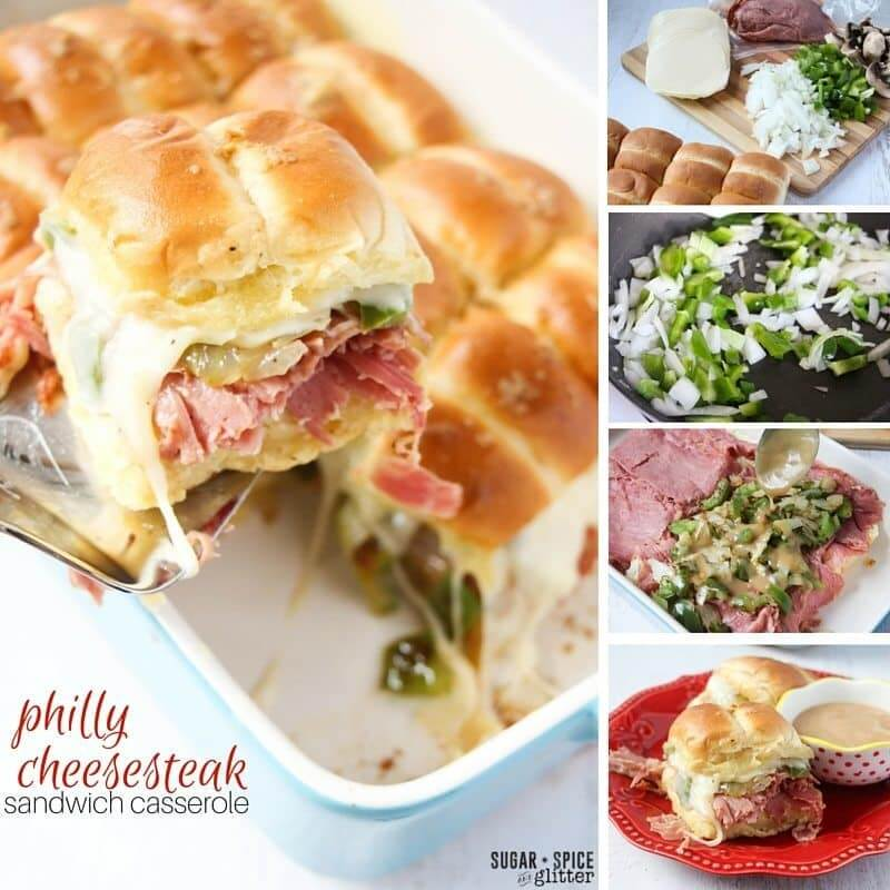 philly cheesesteak casserole recipe (5)